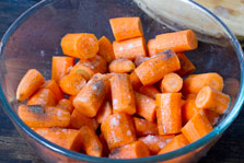 Roasted Carrot and Ginger Soup step 1b