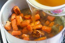 Roasted Carrot and Ginger Soup step 10