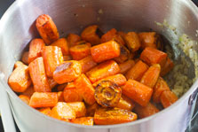 Roasted Carrot and Ginger Soup step 9